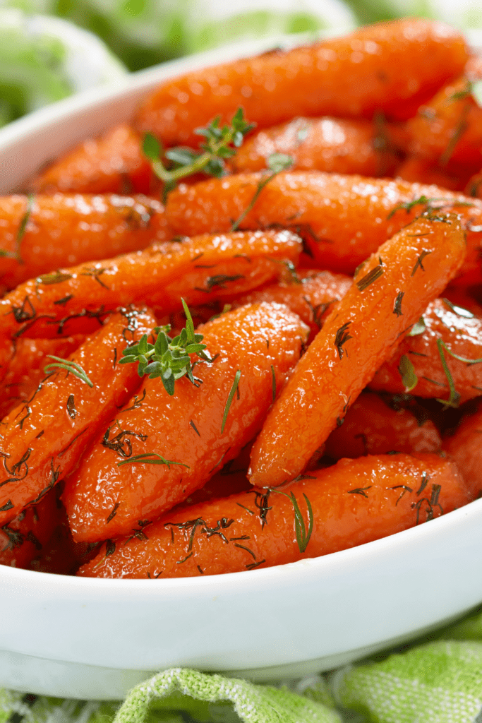 Glazed Baby Carrots with Parsley