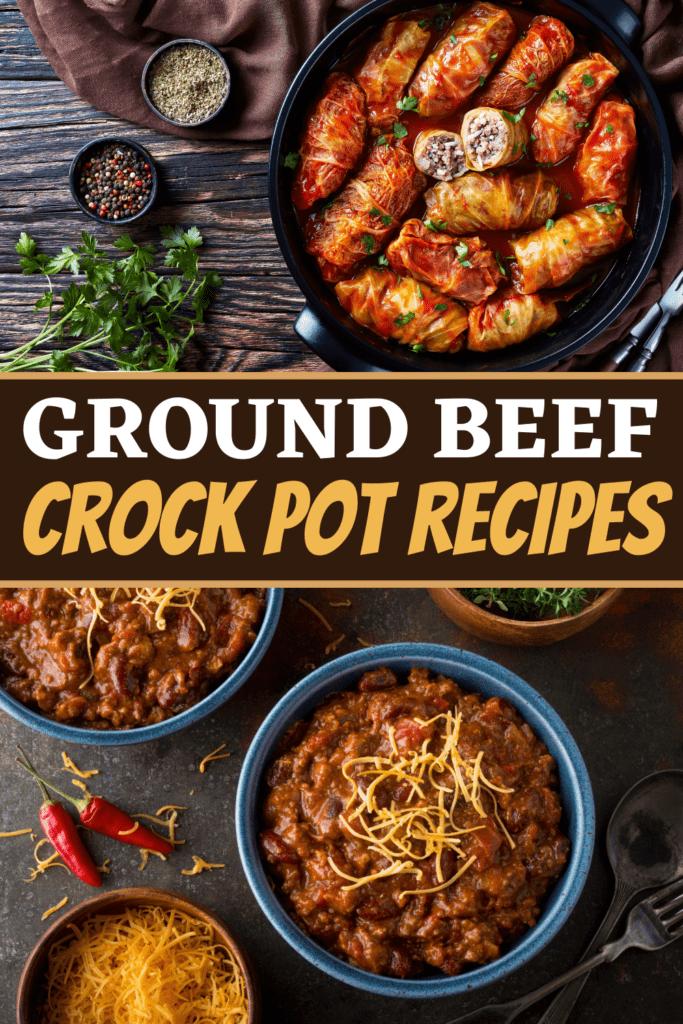 Ground Beef Crock Pot Recipes