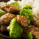 Homemade Beef and Broccoli with Rice