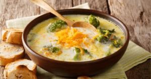 Homemade Broccoli Cheese Soup