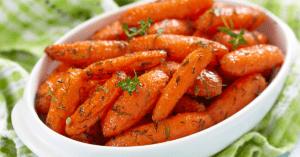Homemade Honey Glazed Baby Carrots