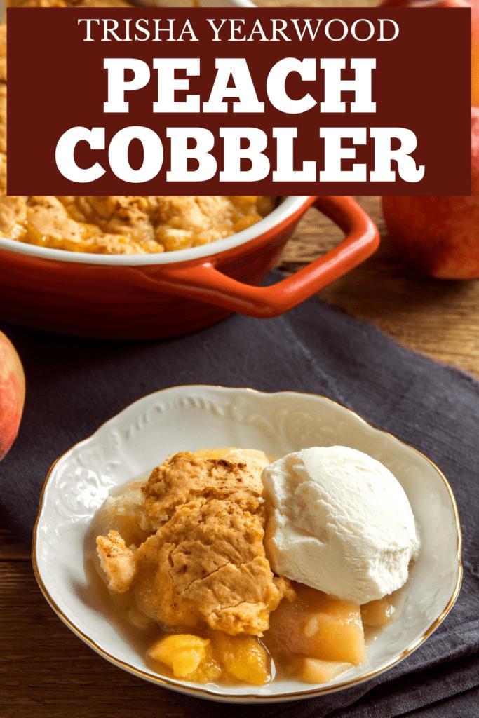 Trisha Yearwood Peach Cobbler