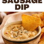 Velveeta Sausage Dip