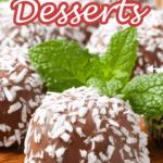 Coconut Desserts