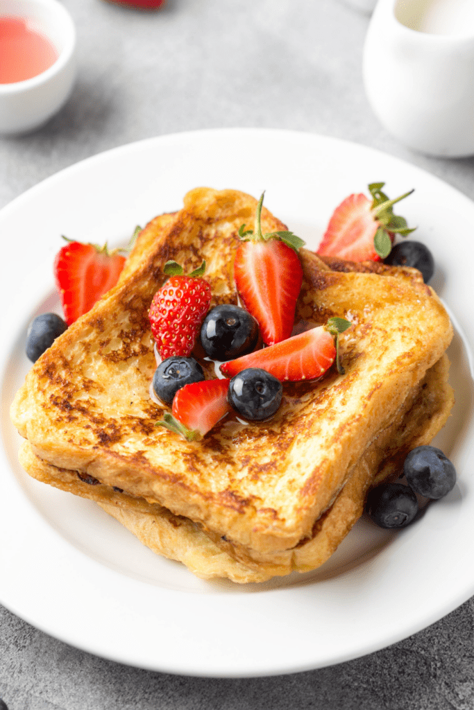 French Toast with Fruit Berries