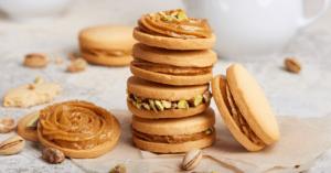 Homemade Alfajores Cookies
