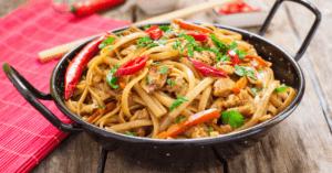 Homemade Chicken Chow Mein