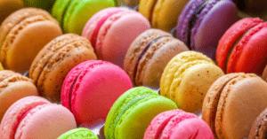 Homemade Colorful Macarons