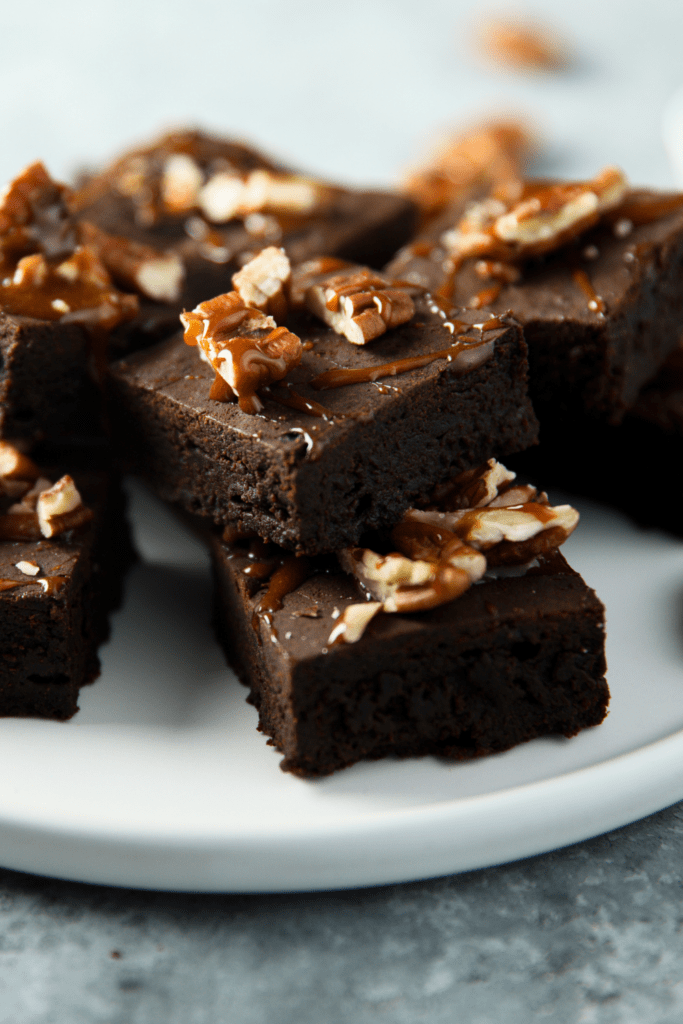 Homemade Fudge Brownies with Nuts