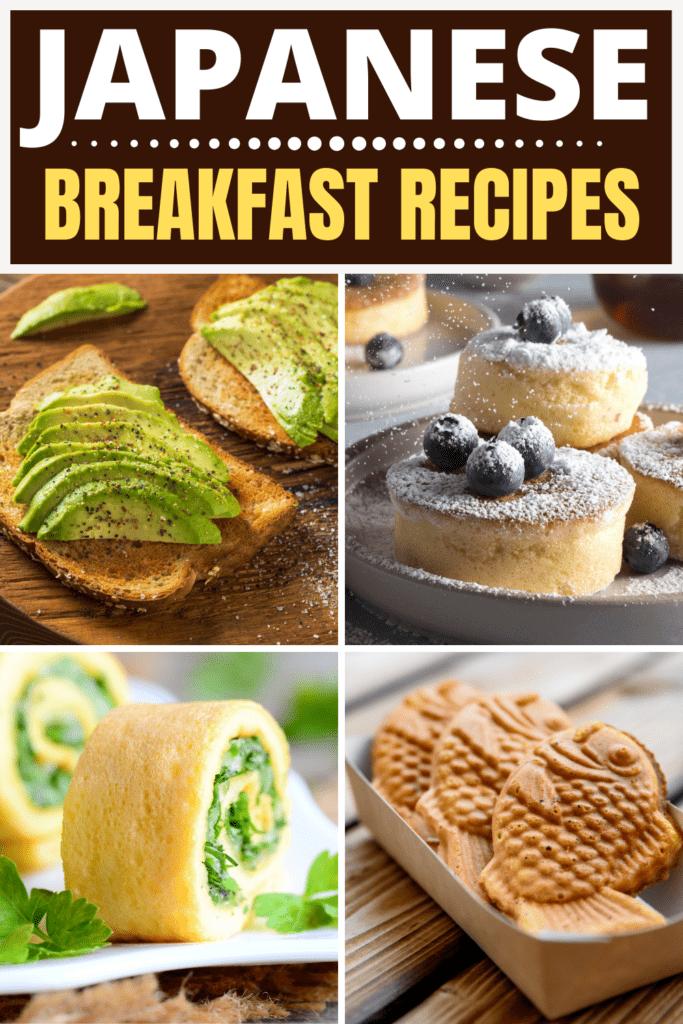 Japanese Breakfast Recipes