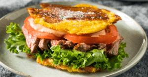 Jibarito Steak Sandwich