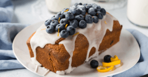 Loaf Cake with Blueberries