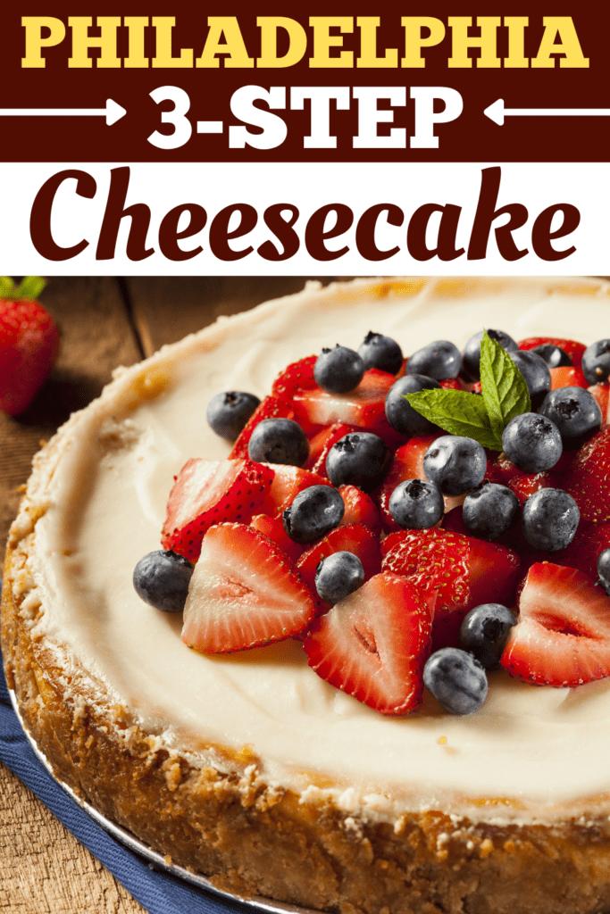 Philadelphia 3-Step Cheesecake