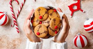 Reindeer Cookies for Christmas