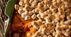 Sweet Potato Casserole - Christmas Side Dish