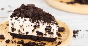 A Slice of Oreo Cheesecake