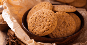 Cookies with Cinnamon in a Bowl