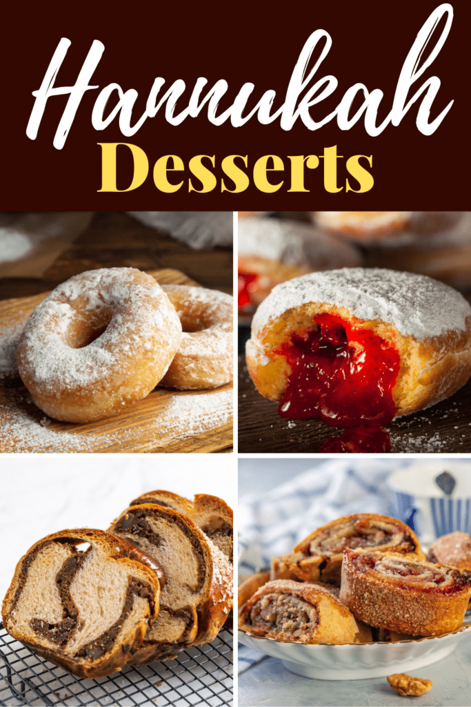 Hanukkah Desserts
