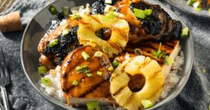 Hawaiian Chicken with Pineapple and Rice