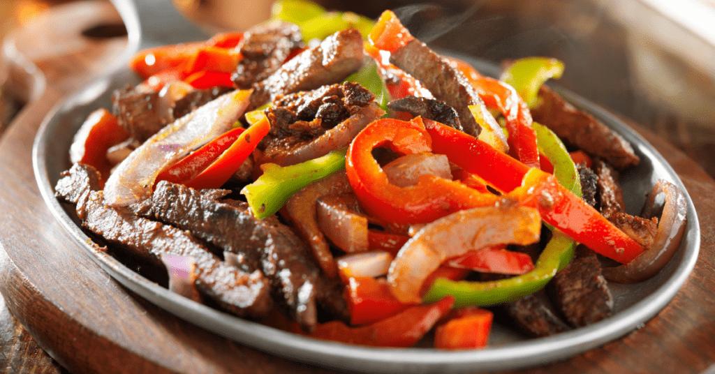 Homemade Beef Fajitas