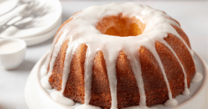 Homemade Bundt Cake with Icing