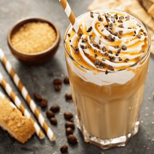 Mcdonald S Caramel Frappe Copycat Recipe Insanely Good