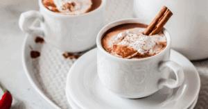 Spicy Homemade Cinnamon Hot Chocolate