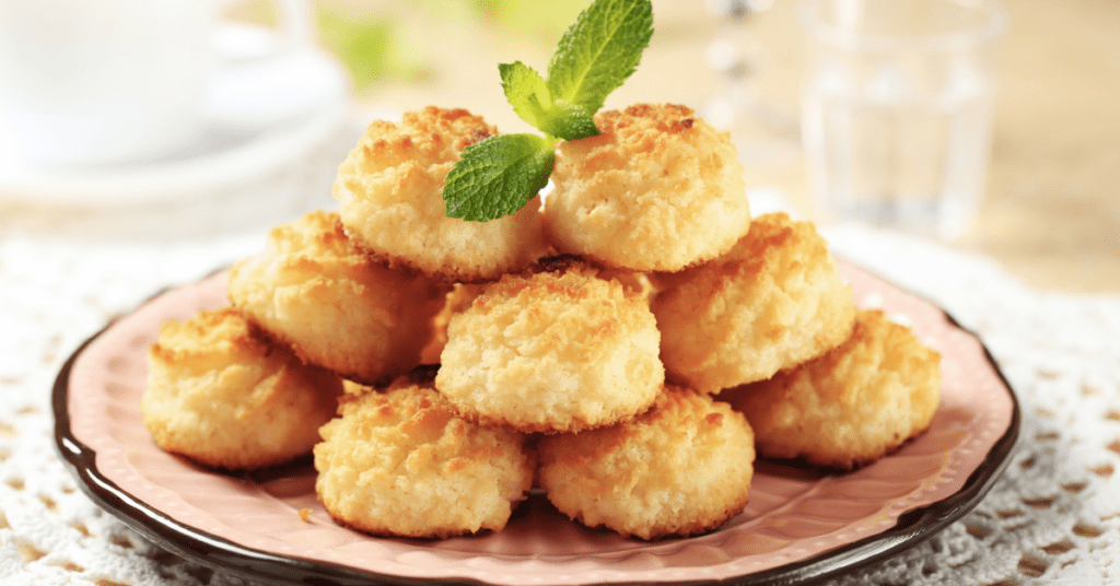 Stacked Coconut Macaroons