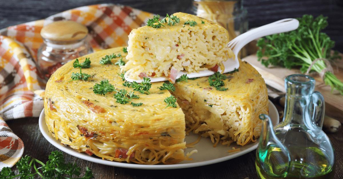 Homemade Spaghetti Pie