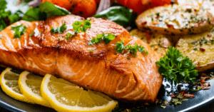 Tuna Steak with Lemons