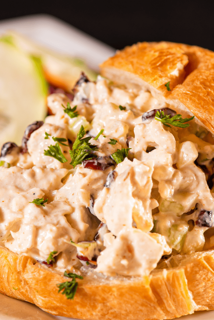 Waldorf Chicken Salad on Croissant