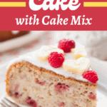 Banana Cake (with Cake Mix!)