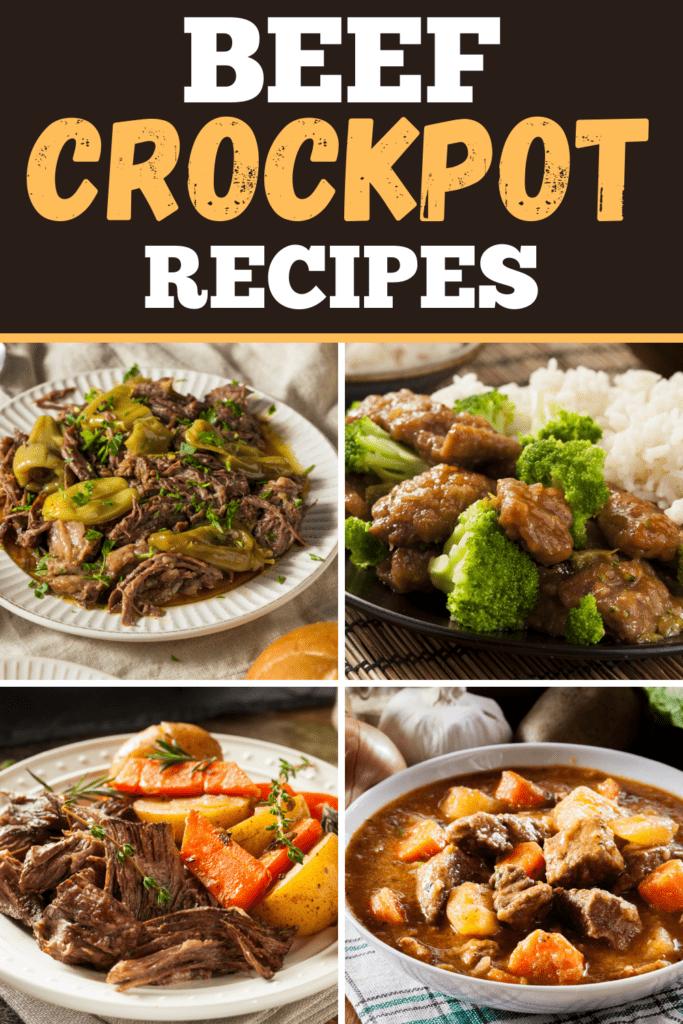 Beef Crockpot Recipes