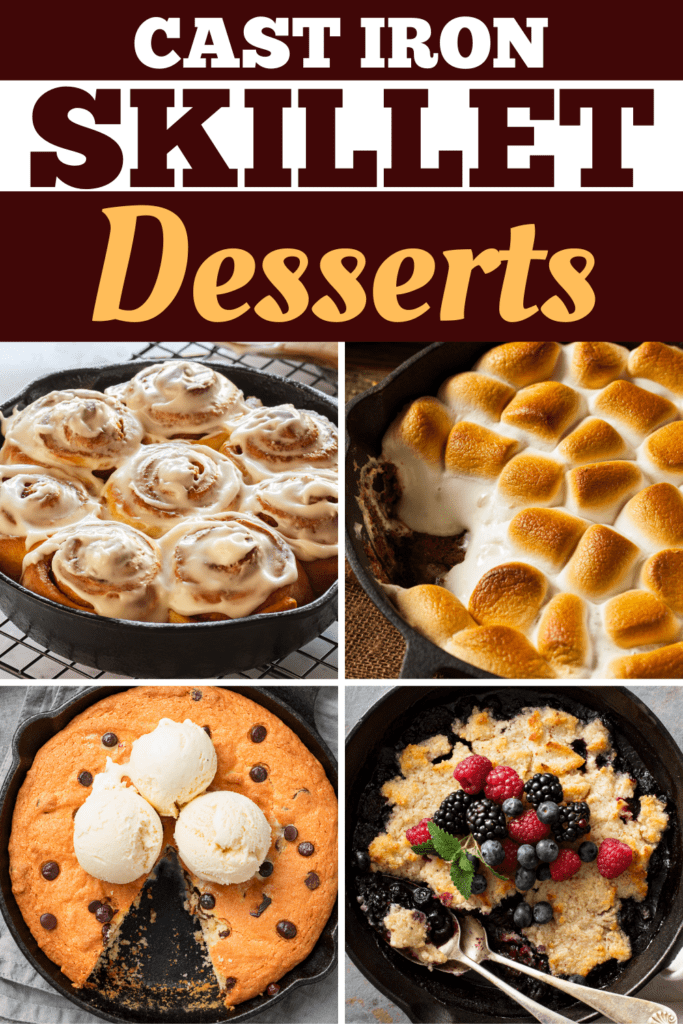 Cast Iron Skillet Desserts