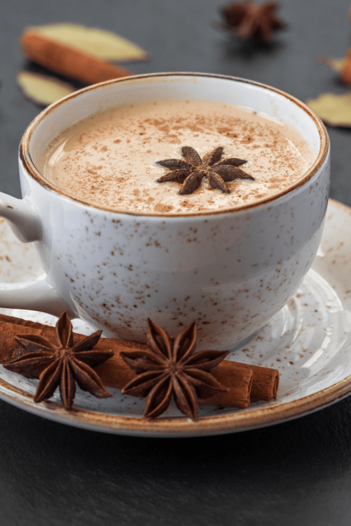 Starbucks Chai Tea Latte in a Cup