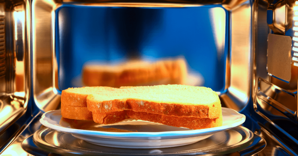 Defrosting French Toast Bread in a Microwave