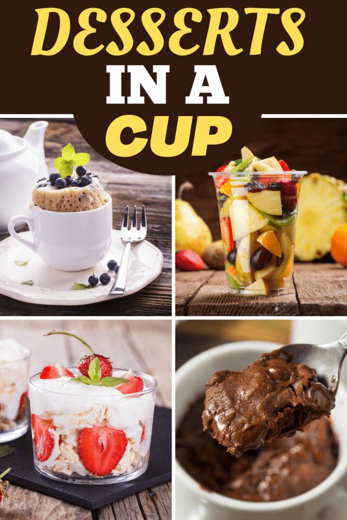 Desserts In a Cup