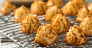Homemade Coconut Macaroons