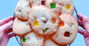 Homemade Gumdrop Cookies