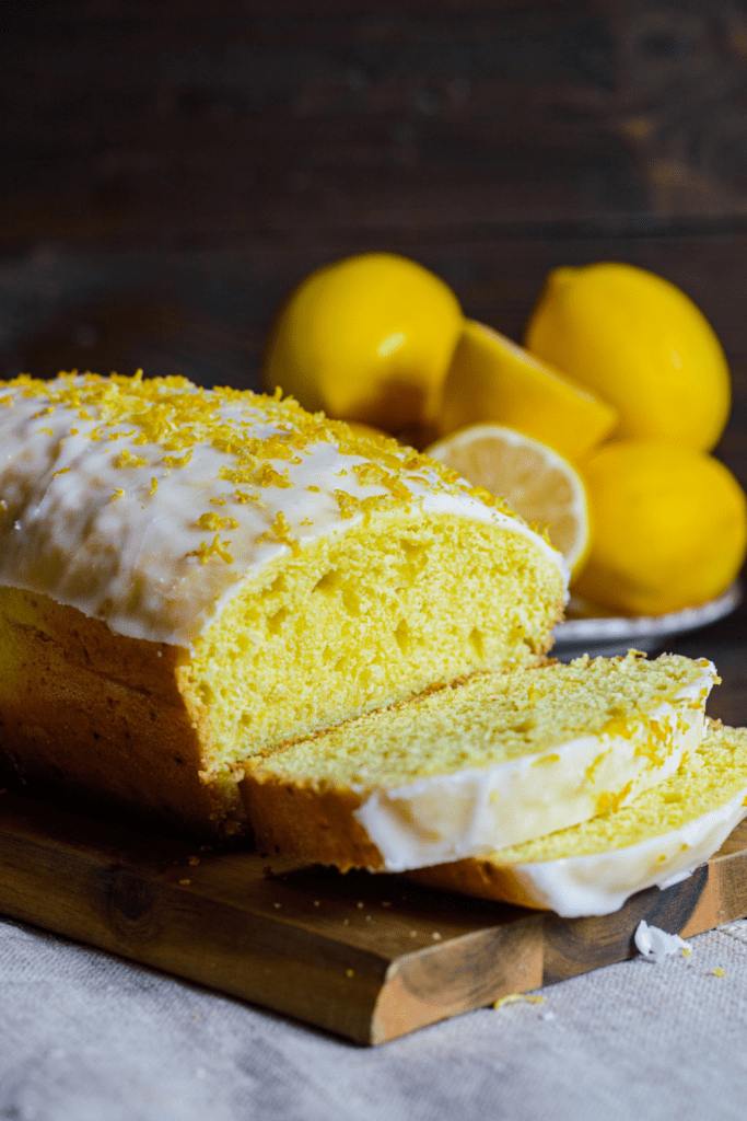 Homemade Lemon Loaf Bread