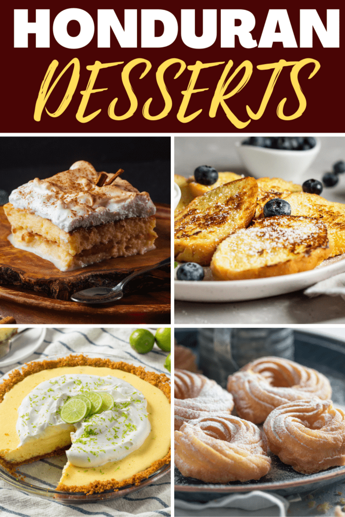 Honduran Desserts