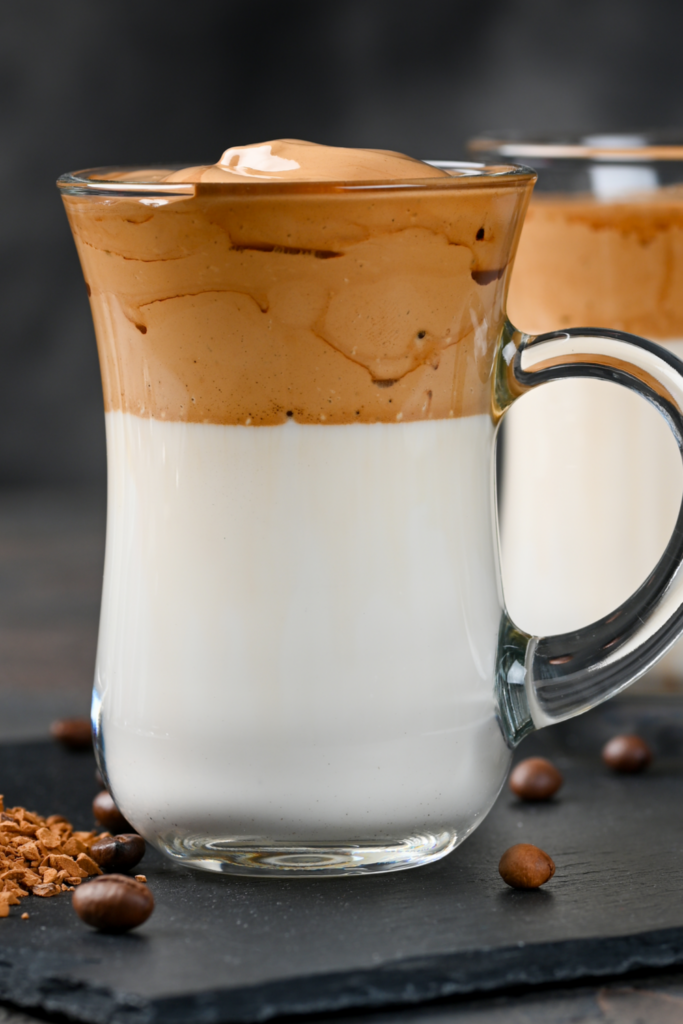 Korean Dalgona Coffee
