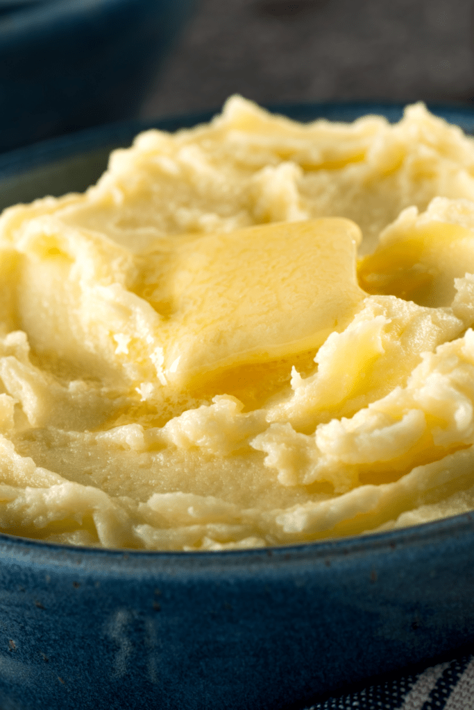 Mashed Potatoes with Butter