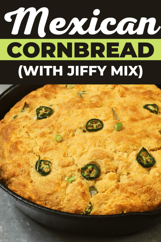 Mexican Cornbread (with Jiffy Mix)