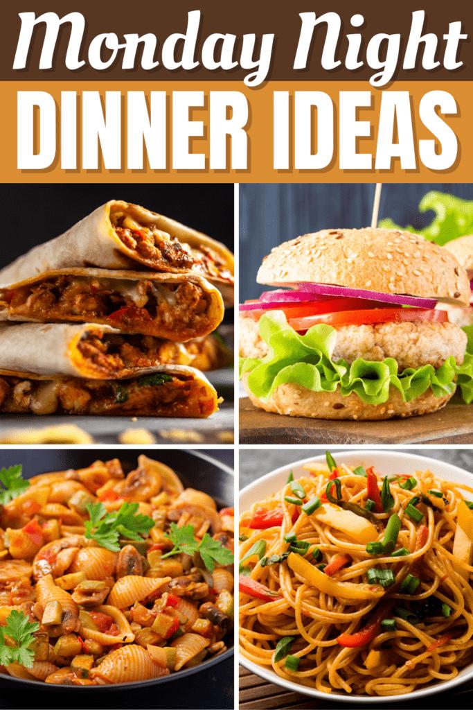 Monday Night Dinner Ideas