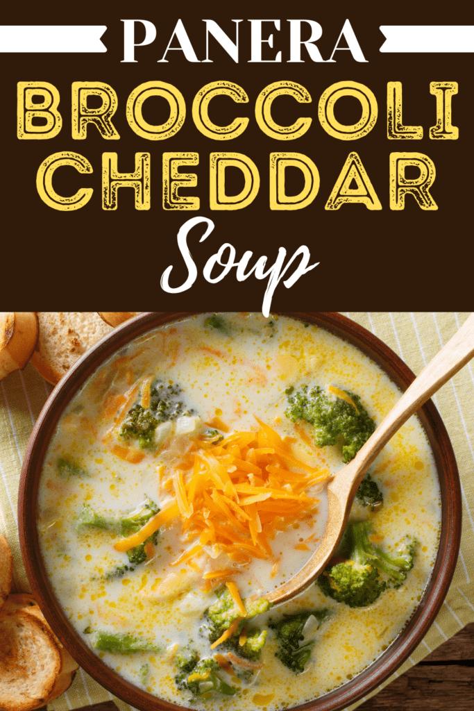 Panera Broccoli Cheddar Soup