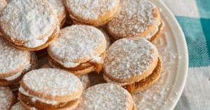 Peruvian Alfajores Cookies