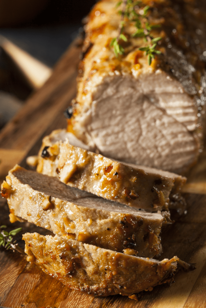 Pork Tenderloin with Herbs and Spices