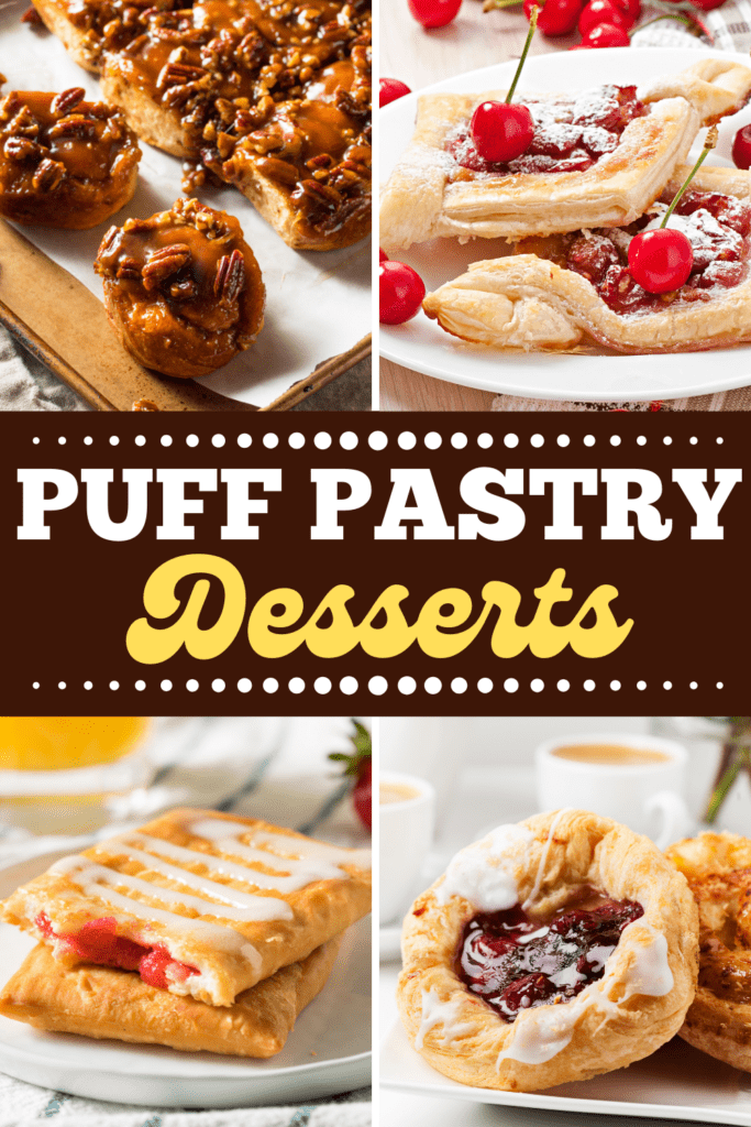 Puff Pastry Desserts
