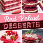 Red Velvet Desserts